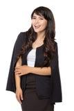 Beautiful young business woman Stock Photo