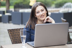 Beautiful young business women Stock Image