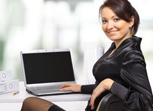 Beautiful young businesswoman Royalty Free Stock Photography