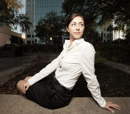 Beautiful young businesswoman Royalty Free Stock Image