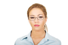 Beautiful young businesswoman. Stock Photography