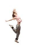 Girl hip-hop dancer Stock Images