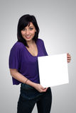 Beautiful Young Casual Hostess (7) Royalty Free Stock Photography