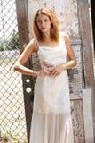 Beautiful young caucasian bride Royalty Free Stock Image