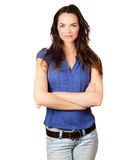 Beautiful young confident woman Royalty Free Stock Images