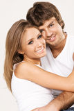 Beautiful young couple Stock Photos