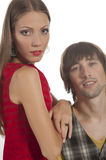 Beautiful young couple Royalty Free Stock Images