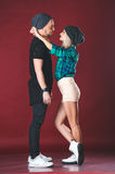 Beautiful young couple Royalty Free Stock Photo