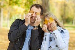 Beautiful young couple having fun Royalty Free Stock Photography