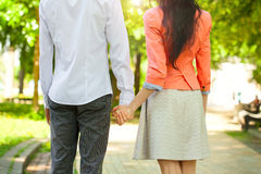 Beautiful young couple in love Royalty Free Stock Image