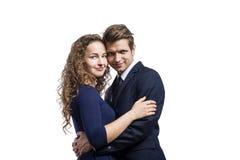 Beautiful young couple Royalty Free Stock Photos