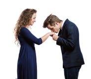 Beautiful young couple Stock Image
