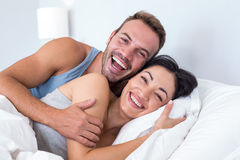 Beautiful young couple relaxing Royalty Free Stock Photos
