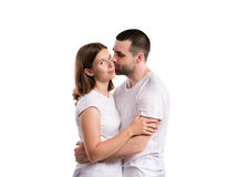 Beautiful young couple Royalty Free Stock Photos
