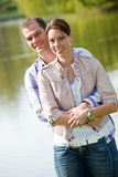 Beautiful young couple together Royalty Free Stock Photography