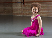 Beautiful Young Dancer portrait Stock Images