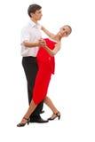 Beautiful young dancing couple Stock Image