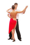 Beautiful young dancing couple Royalty Free Stock Image