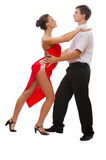 Beautiful young dancing couple Royalty Free Stock Images