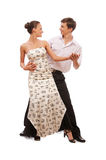 Beautiful young dancing couple Royalty Free Stock Photo