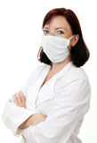 Beautiful young doctor Royalty Free Stock Image