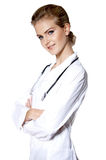 Beautiful young doctor Royalty Free Stock Images