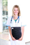 Beautiful young doctor Royalty Free Stock Photography