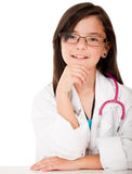 Beautiful young doctor Royalty Free Stock Photo