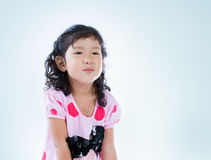 Beautiful young elementary age school girl Royalty Free Stock Images