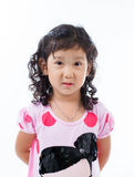 Beautiful young elementary age school girl Stock Photo