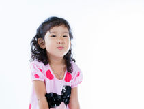 Beautiful young elementary age school girl Royalty Free Stock Photography