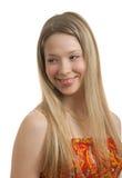Beautiful young European girl Royalty Free Stock Photos