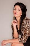Beautiful young european woman Stock Photos