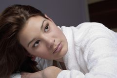 Beautiful Young Face Royalty Free Stock Photo