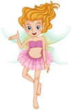 A beautiful young fairy Stock Images