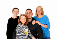 Beautiful young family. Stock Photo