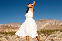 Beautiful young fashion girl Stock Photos