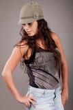 Beautiful young fashion model Royalty Free Stock Photos