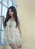 Beautiful young fashion model Royalty Free Stock Image