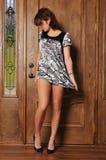 Beautiful young fashion woman Royalty Free Stock Photos