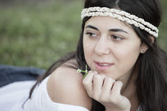Beautiful young female Royalty Free Stock Photos