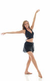 Beautiful young female dancer - pose Royalty Free Stock Photography