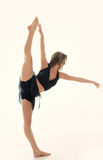 Beautiful young female dancer - pose Stock Image