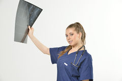 Beautiful young female healthcare professional Stock Photography