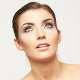 Beautiful young female model Royalty Free Stock Photography