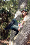 Beautiful Young Forest Elf (4) Royalty Free Stock Images
