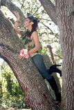 Beautiful Young Forest Elf (7) Royalty Free Stock Image