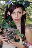 Beautiful Young Forest Elf (11) Royalty Free Stock Image