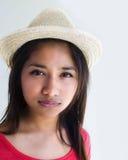 Beautiful young fresh faced Asian woman Royalty Free Stock Photo