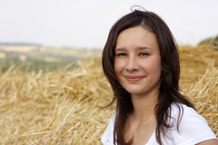 A beautiful young girl Stock Image